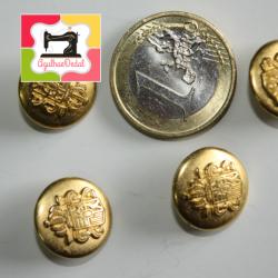 Botões de Pé Dourados...