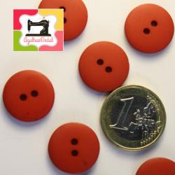 Botões dois furos em vermelho